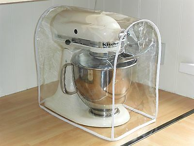 White Cover For Kitchenaid and Kenwood kMix Food Mixers