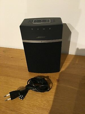 bose soundtouch 10 lautsprecher kabellos schwarz mit ovp eur 160 00 picclick de. Black Bedroom Furniture Sets. Home Design Ideas