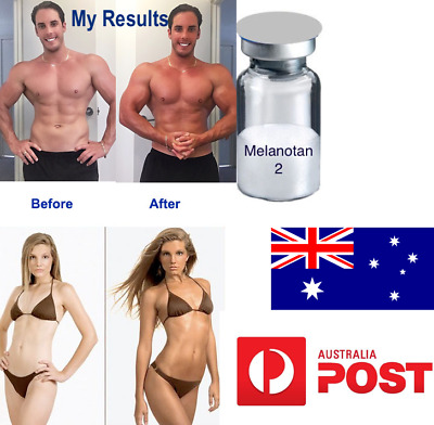Tanning Injection M 2 10mg 100% Quality Pure 99% Pharmaceutical FREE AU Post
