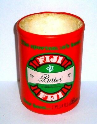 Original Fiji Bitter Beer Stubby Can Holder great condition Rare