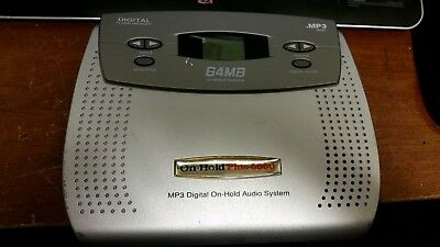 On-Hold Plus 6000 MP3 Digital On-Hold Audio System ~!~ FREE SHIPPING ~!~