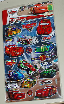 NEW Sealed stickers ' Pixar CARS' PUFFY Stickers Plus MORE!!!