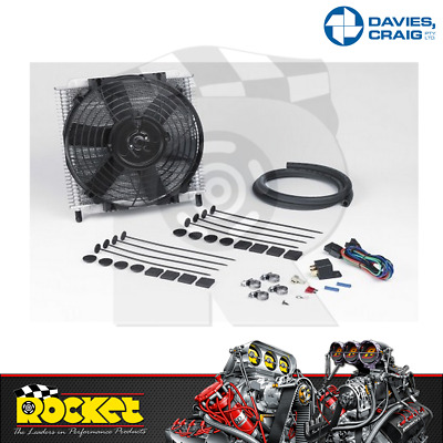 """Davies Craig Transmission Gearbox Oil Cooler Kit With 8"""" Fan - Dc698"""