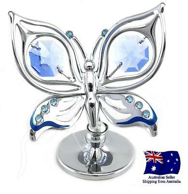 CRYSTOCRAFT Ulysses Butterfly with SWAROVSKI Crystals