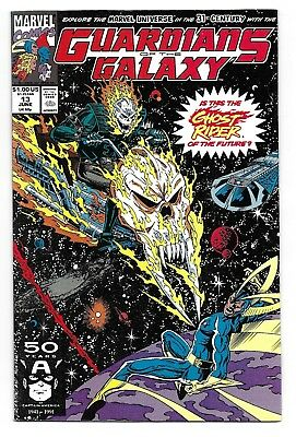 Guardians of the Galaxy 13 1st Cosmic Ghost Rider of the Future Thanos