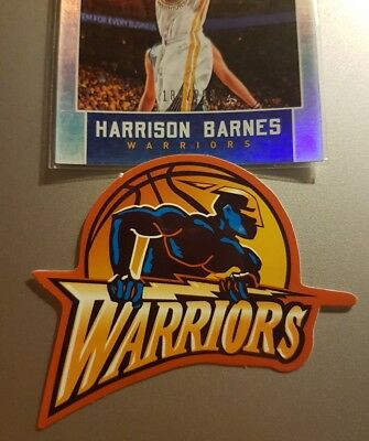 Golden State Warriors themed Car Decal Sticker Badge basketball collectable