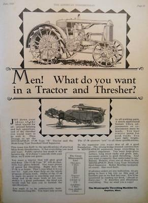 1928, 1929  American Thresherman - 6 issues of Vintage Farm Magazines