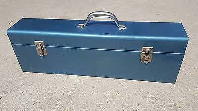 Wellsaw 400 Metal Case, Blue. For Model 400, Portable hand held saw,  Case Only