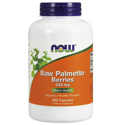Saw Palmetto 250 Caps 550 mg by Now Foods