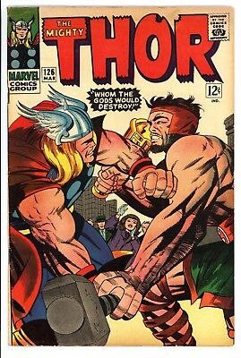 Thor #126 Vol 1 Super High Grade Classic Thor vs Hercules