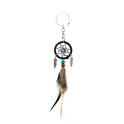 Handmade Feather Dream Catcher Keyring Keychain Car Bag Hanging Decoration Gift