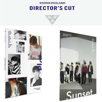 KPOP SEVENTEEN Special Album Director's Cut [ SUNSET, PLOT ] Music CD