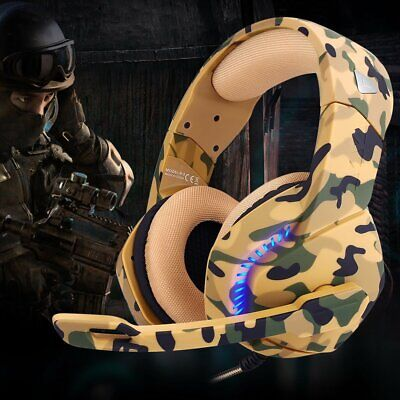 3.5mm H3 Gaming Headset LED MIC Headphones for PC Laptop PS4 Pro Xbox One X S