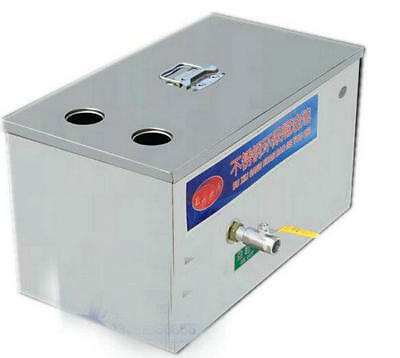 Stainless Steel Grease Trap Interceptor for Restaurant Kitchen Wastewater US