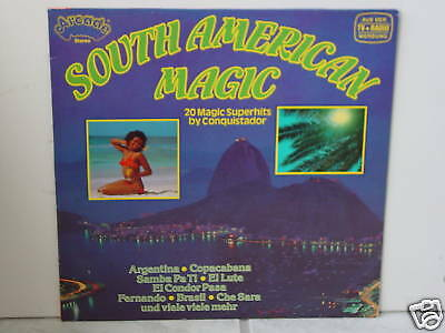 "****CONQUISTADOR""SOUTH AMERICAN MAGIC""-12""Arcade LP****"
