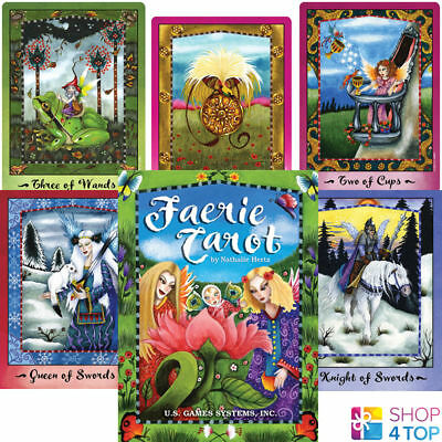 Faerie Tarot Cards Deck Natalie Hertz Esoteric Telling Astrology Games Systems