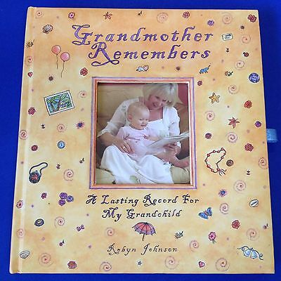 Grandmother's Journal for Her Grandchildren - Album Journal Memoirs - See Photos