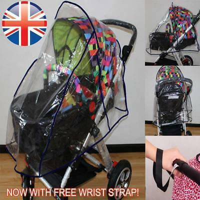 *UK Seller* Universal Pushchair Buggy Pram Stroller Raincover Weatherproof Cover