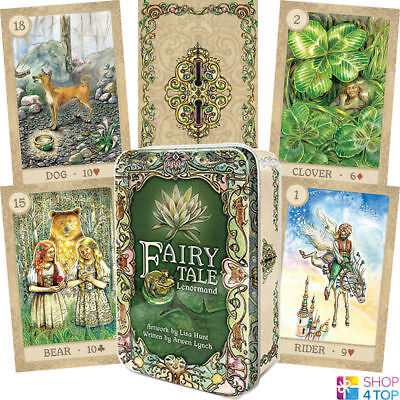 Fairy Tale Lenormand Deck Cards Arwen Lynch Lisa Hunt Esoteric Telling