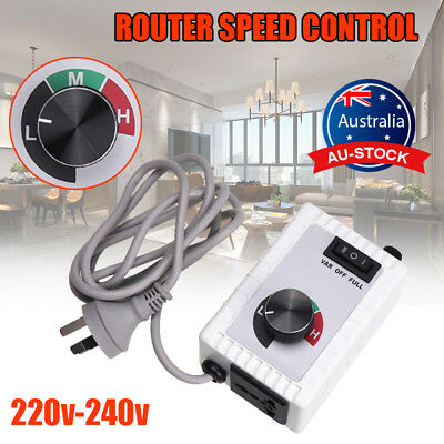 For Router Fan Variable Speed Controller Electric Motor Rheostat 5A 220V-240V