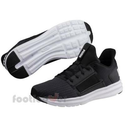 ced265c72aa Puma Enzo Street 190461 04 Mens Black Nylon Running Shoes Gym Sneakers  Casual