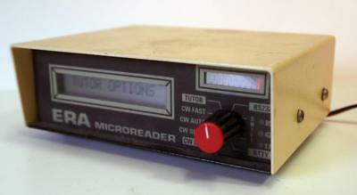 Era Microreader  CW & RTTY decoder & Morse Tutor