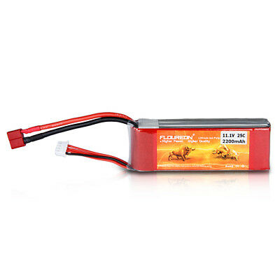 FLOUREON 3S 11.1V 2200mAh-25C LiPo Akku Batterie Deans for RC Autos Flugzeug LKW