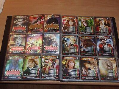 Doctor Who Battles in time complete Exterminator Set 279 cards in folder
