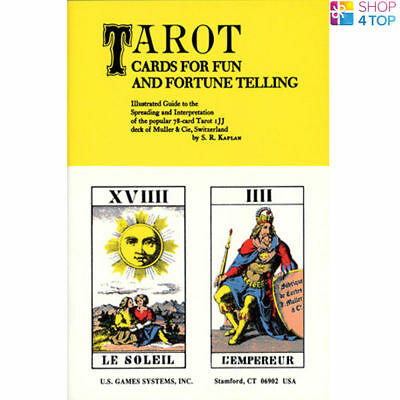 Book Tarot Cards For Fun And Fortune Telling Esoteric Us Games Systems New