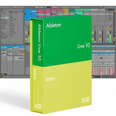 Ableton LIVE 10 INTRO Music Production Recording Software DAW Mac PC Boxed 2018