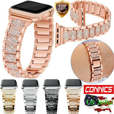 Stainless Steel Bracelet iWatch Band Strap Fr Apple Watch Series 4 3 2 1 38/42MM