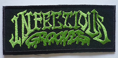 INFECTIOUS GROOVES embroidered patch Suicidal Tendencies Cyco Miko D.R.I. Jane's