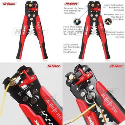 Wire & Cable Stripper Cutter Tool Ultimate Self Adjusting Stripping Hand Too