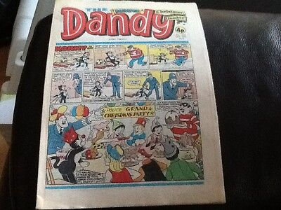 THE DANDY CHRISTMAS ISSUE 1976 - Paper comic In unread condition . GREAT ITEM
