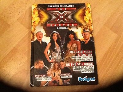 The X Factor . 2011 / 2012 Annual  New Unsold Shop Stock  Collectors Condition,