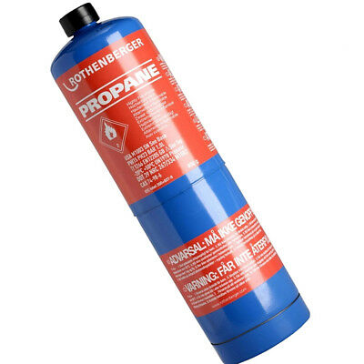 Rothenberger Propane Gas Cylinder For Jet Torch Quick Super Micro Fire Brazing