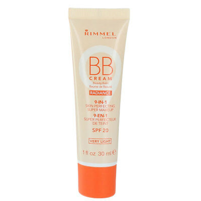 Rimmel BB Cream 9 In 1 Skin Perfecting Radiance Make Up SPF 20 30ml