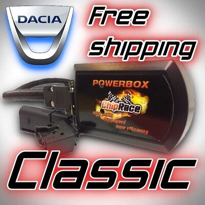 Performance Power Chip BOX Tuning to DACIA DUSTER 1.5 DCI 107 HP UK