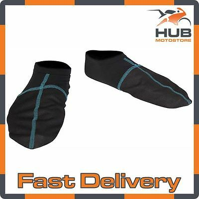 Spada Chill Factor 2 Thermal Windproof Motorcycle Motorbike Boot Liners - Black
