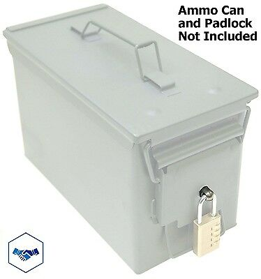 Locking Hardware For Ammo Can 20 To 50 Cal Steel Box Case Ammunition Container 9 73 Picclick