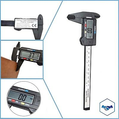 Digital Electronic Gauge Stainless Steel Vernier 150mm 6inch Caliper Micrometer