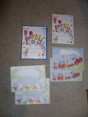 PHOENIX TRADING Pack Of 10 PARTY INVITES & ENVELOPES ~ High Quality! & extras