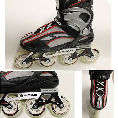 HEAD FORCE Mens Professional Sports Inline Skates Roller Skating Boots CLEARANCE