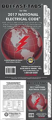 2017 National Electrical Code Book NEC Fast-Tabs For Softcover Builders Inc. NEW