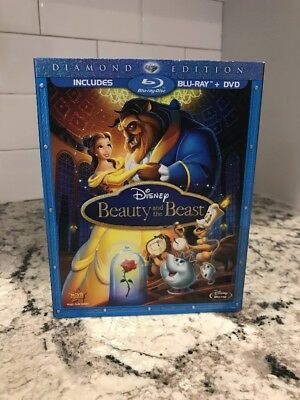 Beauty and the Beast (Blu-ray/DVD, 2010, 2-Disc Set, Diamond Edition)