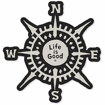 Life is Good.A Decal Compass LiG Misc