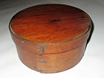 """ANTIQUE LATE 1800's/TURN CENTURY SMALL 7-1/2"""" PANTRY BOX (Excellent Condition)"""