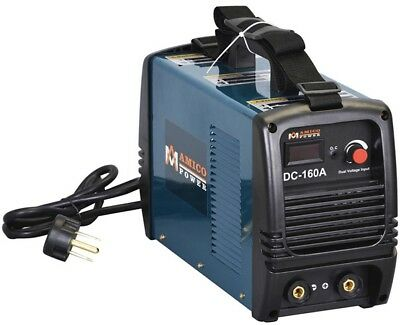 Dual Voltage Welding Machine 160 Amp Stick DC Inverter IGBT 115-Volt 230-Volt