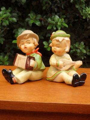 Antique ART DECO 20s 30s VINTAGE Chalkware PIANO BABY DOLL Figurine MayB GERMAN