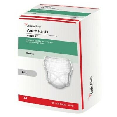 Curity Youth Pants, Large / Ex-Large, Heavy Absorbency, 70074A - Case of 56